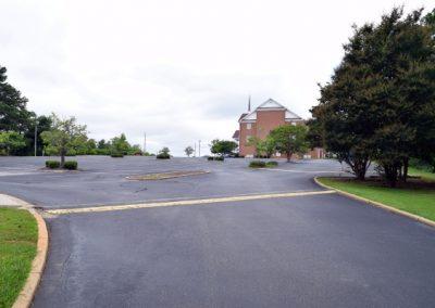 Main Parking Lot Entrance
