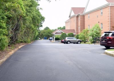 Driveway to Drop Off Area